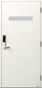 NorDan ytterdør Trysil med NCS S0502Y farge og ID Lock hvit